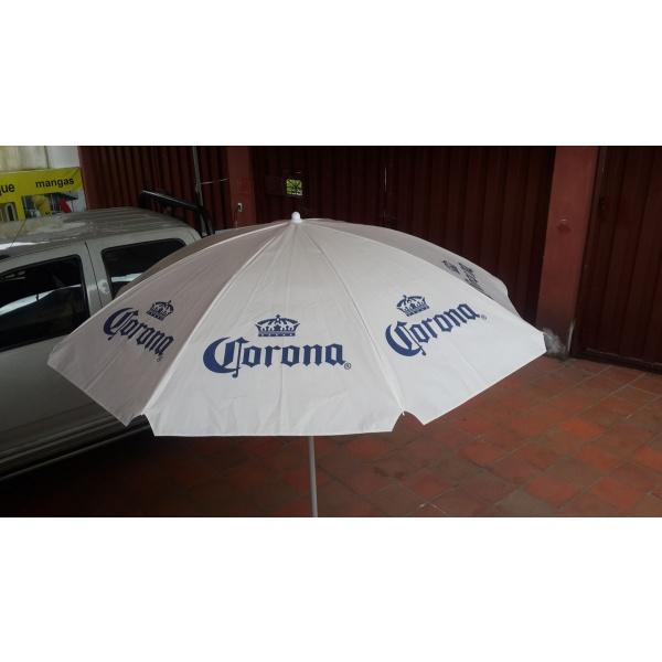 parasol metálico promocional