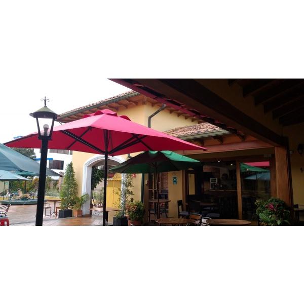 parasol cuadrado